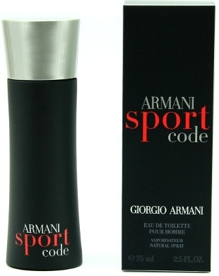 Giorgio Armani Code Sport EDT M 75ml