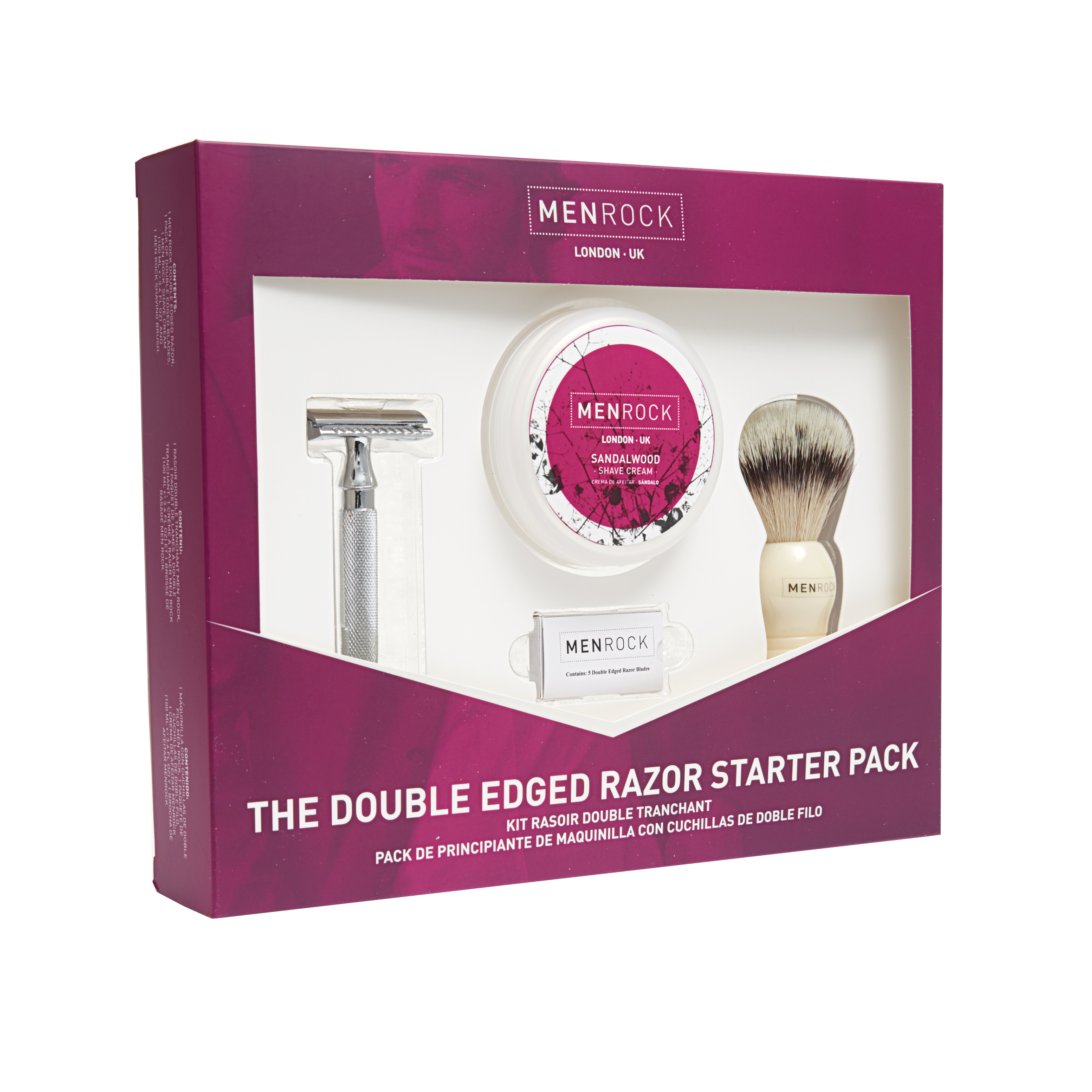 MENROCK The Double Edged Razor Pack