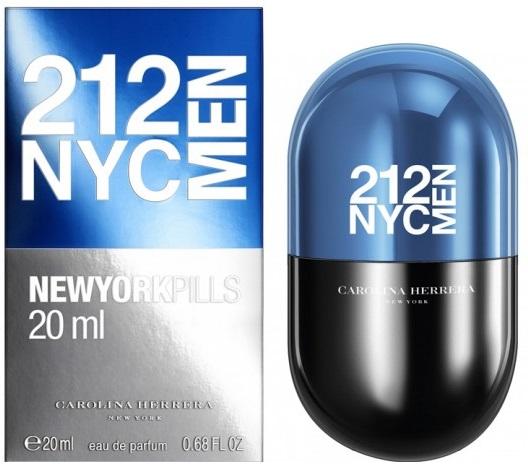 Carolina Herrera 212 NYC Men New York Pills M EDT 20ml