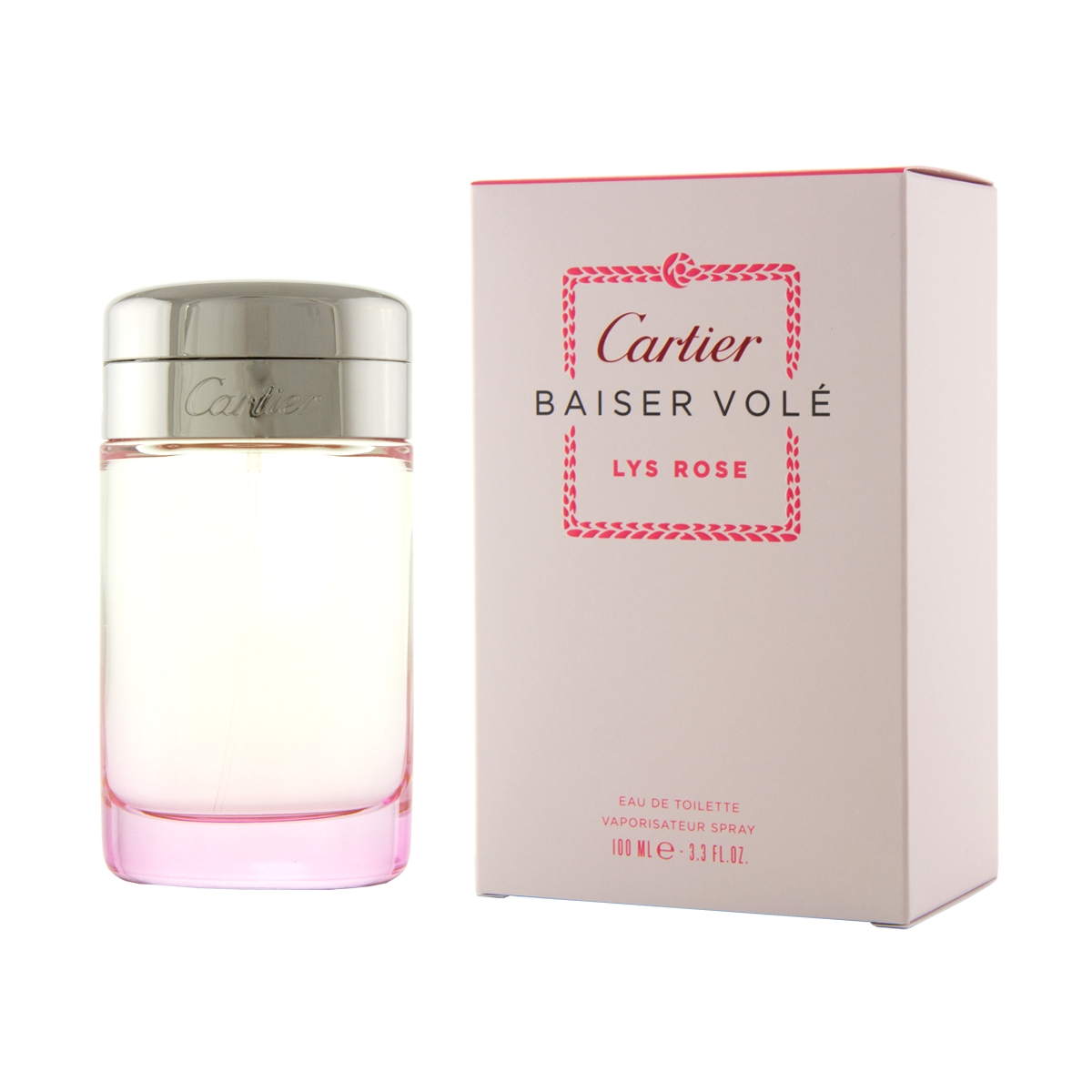 Cartier Baiser Volé Lys Rose W EDT 100ml