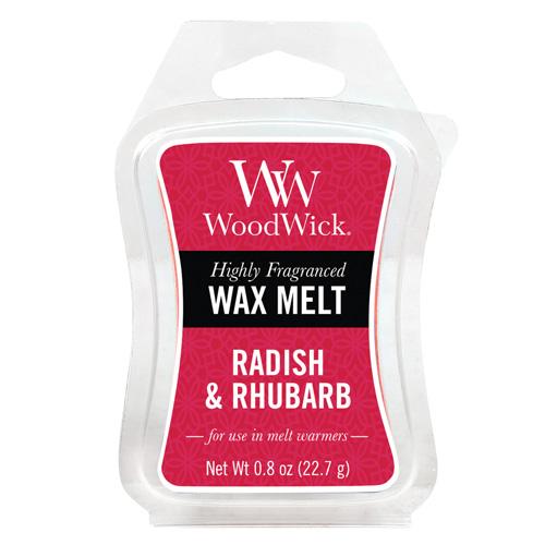 WoodWick Vonný vosk Radish Rhubarb 22,7g