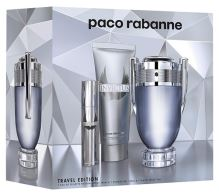 Paco Rabanne Invictus M EDT 100ml + SG 75ml + EDT 10ml