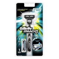 Gillette Mach 3 strojek + 2 náhradní hlavice