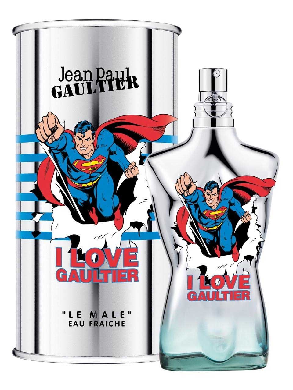 Jean Paul Gaultier Le Male Superman Eau Fraiche EDT 75 ml M