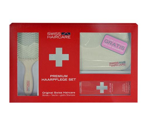 Swiss Haircare Premium Haircare Color Kit Šampon na poškozené, barvené vlasy 1ks W - set II