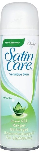 Gillette Satin Care Sensitive Skin Shave Gel 200ml