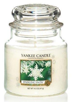 Yankee Candle Třpytivý sníh 411g