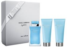 Dolce & Gabbana Light Blue Eau Intense W EDP 100ml + BL 100ml + SG 100ml