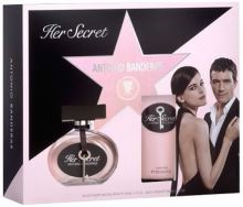 Antonio Banderas Her Secret W EDT 50ml + BL 100ml