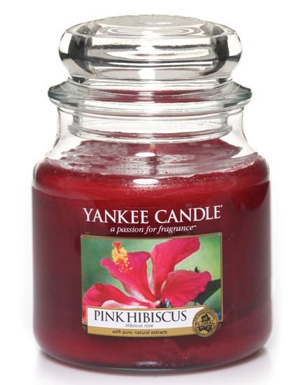 Yankee Candle 411g Pink Hibiscus