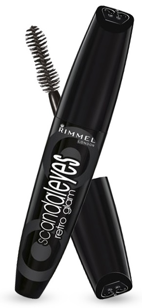 Rimmel London ScandalEyes Retro Glam 12ml - 003 Extreme Black