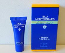 Acqua di Parma Blu Mediterrano Italian Radiant Face Cream 5ml