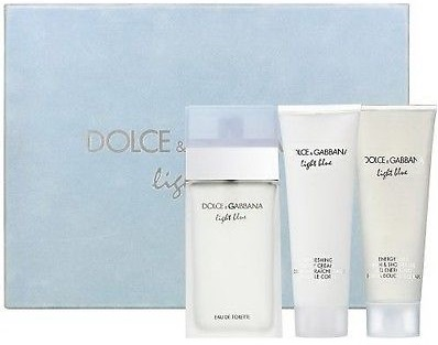 Dolce & Gabbana Light Blue W EDT 100ml + SG 100ml + BL 100ml