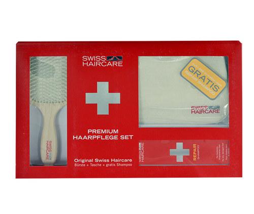 Swiss Haircare Premium Haircare Color Kit Šampon na poškozené, barvené vlasy 1ks W - set III