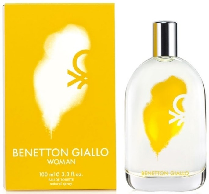Benetton Giallo W EDT 100ml