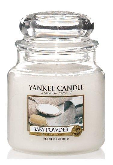 Yankee Candle Dětský pudr 411g