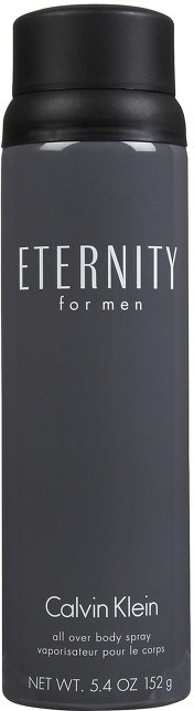 Calvin Klein Eternity For Men (M) All Over Body Spray 152g