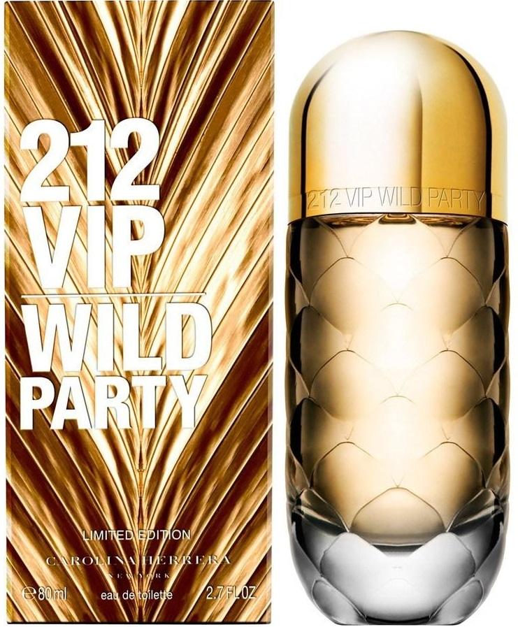 Carolina Herrera 212 VIP Wild Party W EDT 80ml