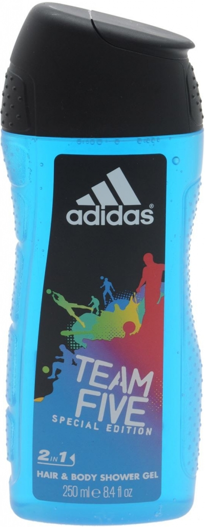 Adidas Team Five Sprchový gel 250ml M