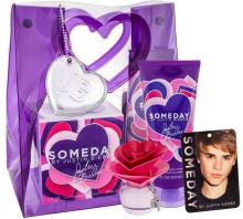 Justin Bieber Someday W EDP 30ml + BL 200ml + Room Freshener