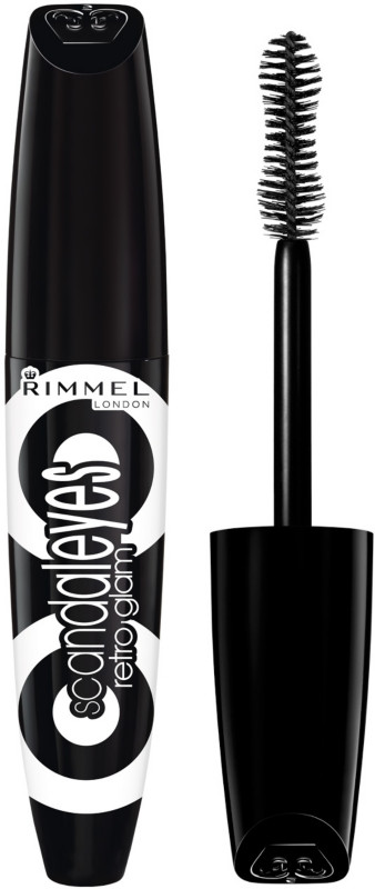 Rimmel London ScandalEyes Retro Glam 12ml - 001 Black