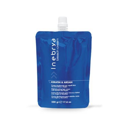 Blue Bleaching Hair Cream - Keratin & Argan 500gr/Bleachings/Odbarvování