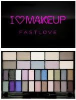 Makeup Revolution London I Love Makeup Fastlove Palette 14g