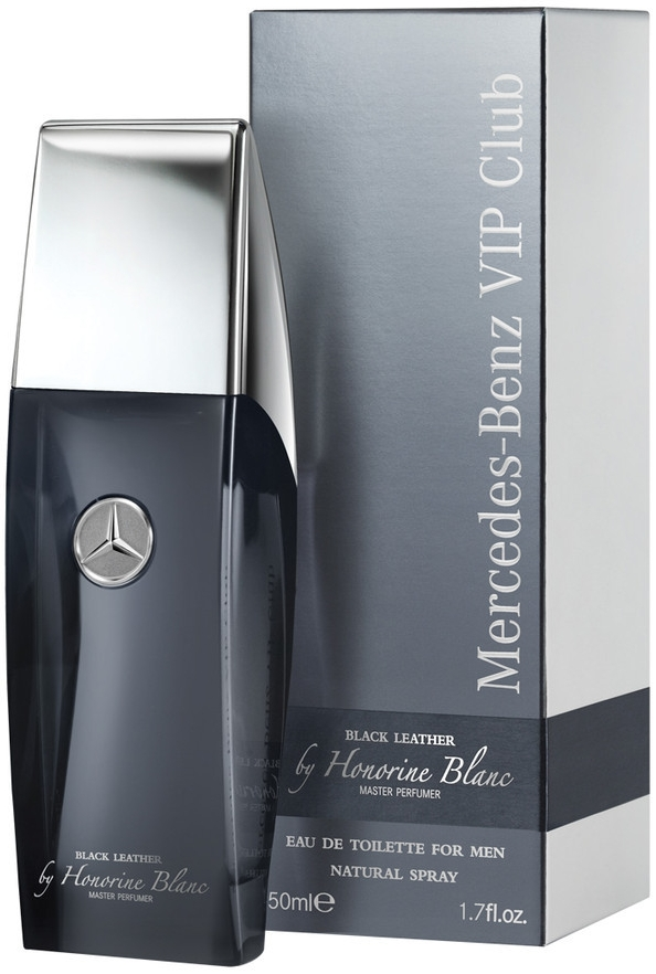 Mercedes-Benz Vip Club Black Leather by Honorine Blanc Toaletní voda 50ml M