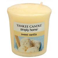 Yankee Candle votivní svíčka 49g Sweet Vanilla