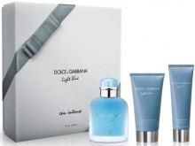 Dolce & Gabbana Light Blue Eau Intense Pour Homme M EDP 100ml + SG 50ml + ASB 75ml