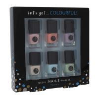 2K Let's Get Colourful! Pastels Nail Polish Set