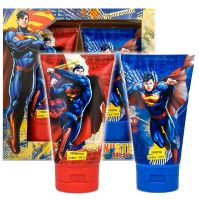 DC Comics Superman Man Of Steel Shower Gel & Shampoo Set