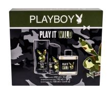 Playboy Play It Wild M EDT 100ml + SG 250ml + deodorant 150ml
