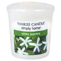 Yankee Candle votivní svíčka 49g White Jasmin