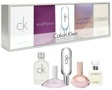 Calvin Klein Deluxe Fragrance Travel Collection For Women