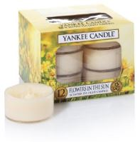Yankee Candle čajové svíčky 12 x 9,8g Flowers In The Sun