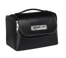 label.m Mini Black Stylist Case/Kufřík černý mini 27cmx19cmx16cm