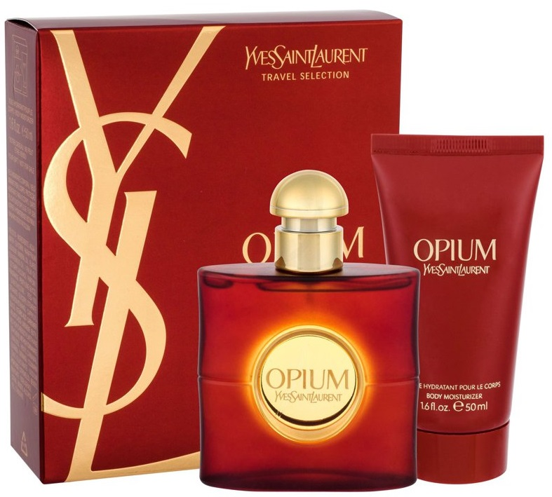 Yves Saint Laurent Opium W EDT 50ml + BL 50ml
