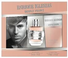 Enrique Iglesias Deeply Yours W EDT 40ml + SG 200ml