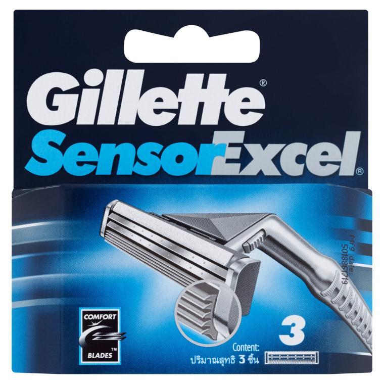 Gillette Sensor Excel 3ks