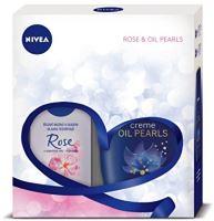 Nivea Rose & Oil Pearls Set