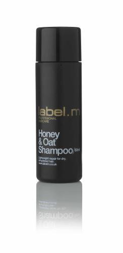 Honey & Oat Shampoo 60ml/šampon na bázi medu a ovsa pro přirozené suché dehydrované vlas