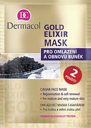 Dermacol Gold Elixir Mask 16ml W