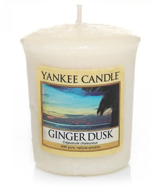 Yankee Candle Votivní svíčka Zázvorový soumrak 49g