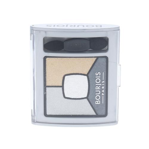 Bourjois Paris Smoky Stories Quad Eyeshadow Palette 3,2g - 09 Grey-zy In Love