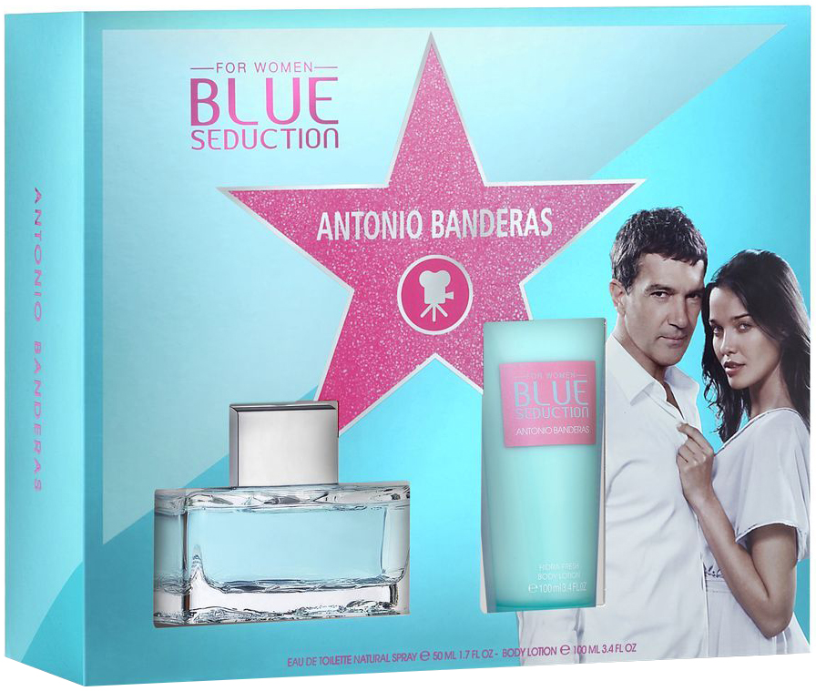 Antonio Banderas Blue Seduction W EDT 50ml + BL 100ml