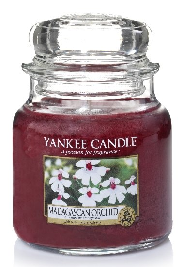 Yankee Candle Orchidej z Madagaskaru 411g