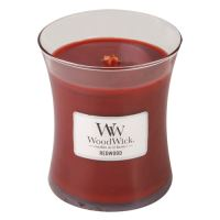 WoodWick oválná váza Redwood 275g