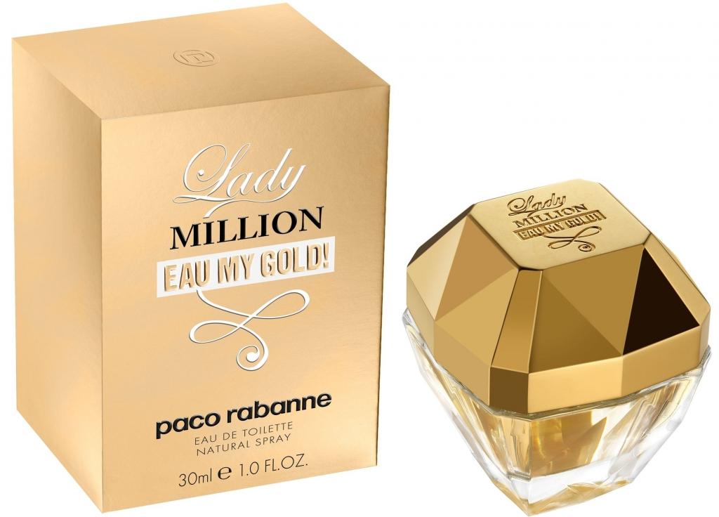 Paco Rabanne Lady Million Eau My Gold! W EDT 50ml