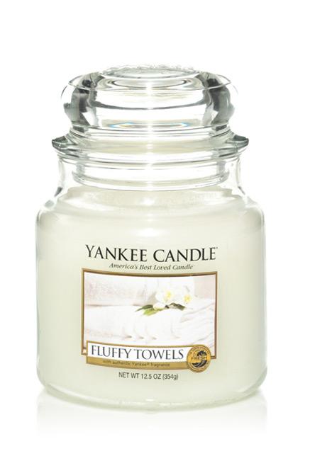 Yankee Candle Načechrané ručníky 411g